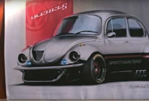 The Super Beetle, Vw Kodok Gila Dengan Mesin Dari Subaru
