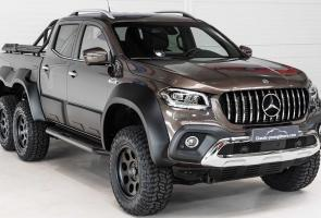 Carlex Design Buat Mercedes X Class Pickup Jadi Monster 6x6