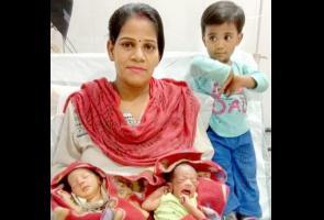 Melahirkan Saat Lockdown, Ibu India Namai Anaknya Corona & Covid