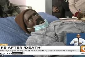 Pria Kenya Ini Tiba-Tiba Siuman & Buat Petugas Kamar Jenazah Kaget