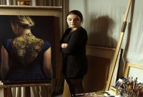 Seniman Polandia Buat Lukisan Dengan Bentuk Seni Kontemporer, Tato
