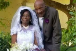 10 Tahun Pacaran, Nenek 91 Tahun Ini Akhirnya Nikahi Kekasihnya