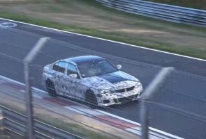 Spyshot: BMW M3 Generasi Baru Mulai Diuji Di Nurburgring