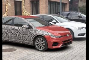 Spyshot: Prototipe VW Golf Mk8 Terlihat Di China
