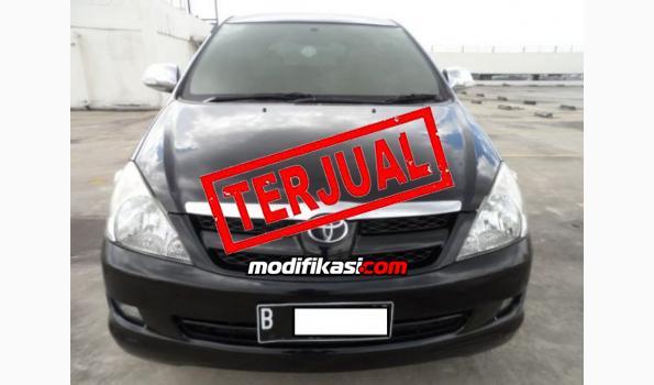 Jual: Toyota Kijang Innova G Matic 2007 Euro Hitam Rawatan