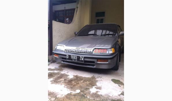 Jual: Honda Grand Civic Lx Matic 1989 Abu-abu Bandung