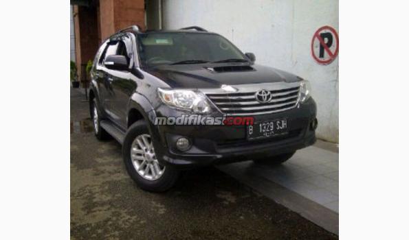 Jual: Toyota Fortuner Diesel Vnt 2012 A/t Km 17rb Istimewa