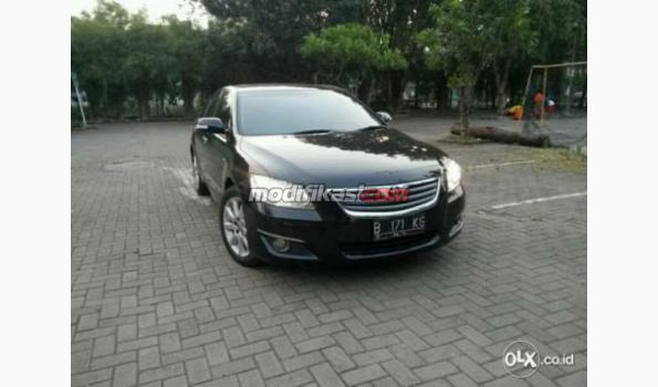 jual toyota camry q3 5 sunroof 09 08 hitam terawat dan murah jual beli. Black Bedroom Furniture Sets. Home Design Ideas