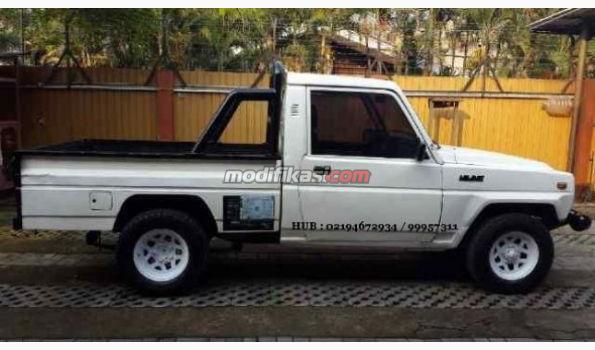 Jual: Daihatsu Taft Hiline Pu Long 4x4 Wd ( Langka) Th 1997 Putih