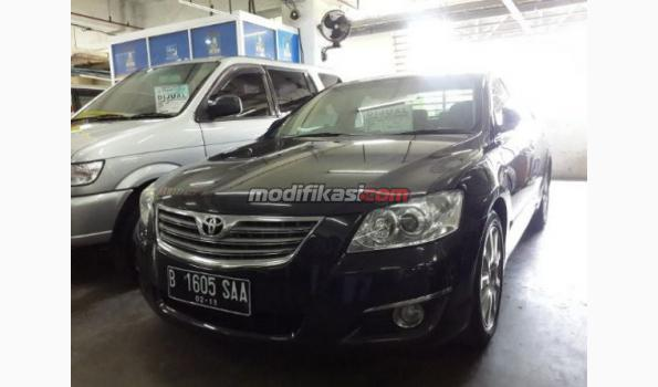 toyota camry 2 4 v thn 2008 hitam. Black Bedroom Furniture Sets. Home Design Ideas