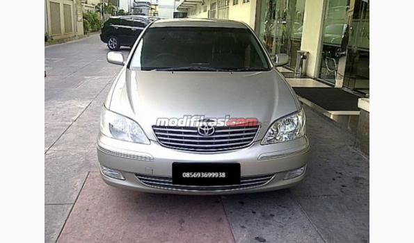 toyota camry type g automatic 2400 cc tgn 1 silver 2004. Black Bedroom Furniture Sets. Home Design Ideas