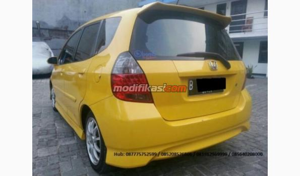 Jual: Honda Jazz 2007 Vtec Kuning Dp 14 Limited Edition - Modifikasi