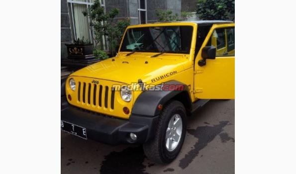 Jual: Jeep Wrangler Sport 2007 Yellow