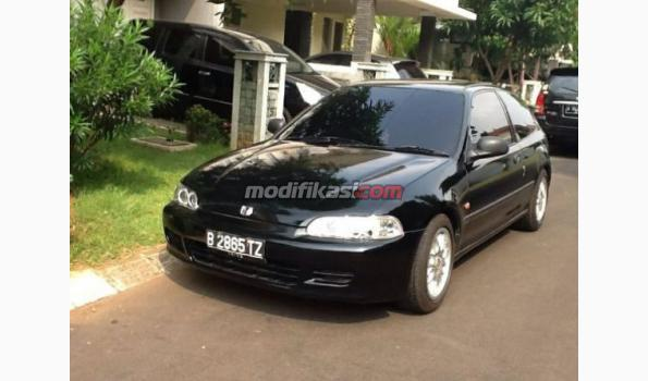 Jual Honda Civic Estilo Full Standar Hitam Tahun 1992