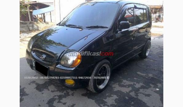 Jual: Hyundai Atoz Gls At Th 2001 Hitam Solid - Modifikasi ...