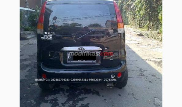 Hyundai Atoz Gls AT Th 2001 Hitam Solid