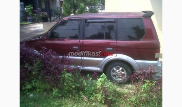 Jual: Mitsubishi Kuda Super Exceed Th 99 Merah Mulusss! - Modifikasi ...