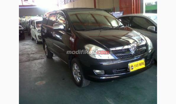 Jual: Toyota Kijang Innova 2.0 V At 2008 Hitam Metalik