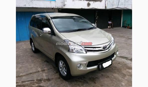Jual: Toyota Avanza 1.3 G '12 A/t - Kuning Metalik Seperti Baru