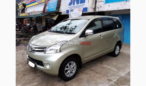 Jual: Toyota Avanza 1.3 G Tahun 2012 A/t Kuning Metalik Seperti Baru