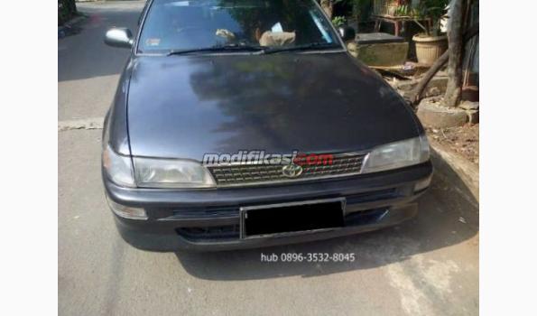 Jual: Toyota Great Corolla Seg 1.6 Manual Abu Abu Thn 1994