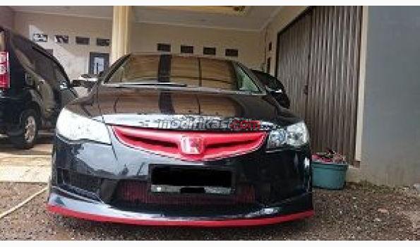 Jual Honda Civic Fd2 Hitam 2007 Low Km Modif
