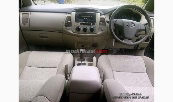 Jual: Toyota Kijang Grand Innova G 2012 Silver AT Siap Pakai