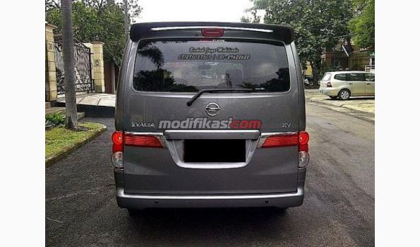 Jual: 2012 Nissan Evalia Xv Grey MT Siap Pakai