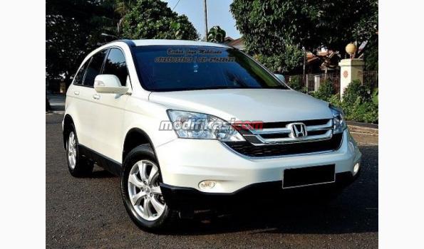 Jual 2010 Honda Crv 20 Putih AT Sangat Terawat