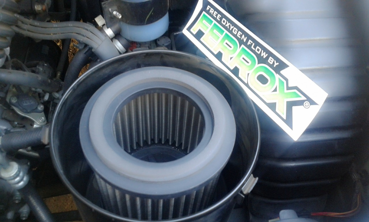 Baru Ferrox Air Filter Full Stainless Steel 304 Japan Pict Udara Honda Accord 2400cc 2008 2012 Users Review