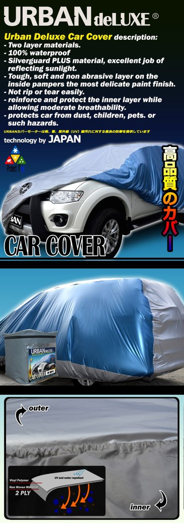 Jual Cover Mobil URBAN DELUXE 2-LAYER (NEW)