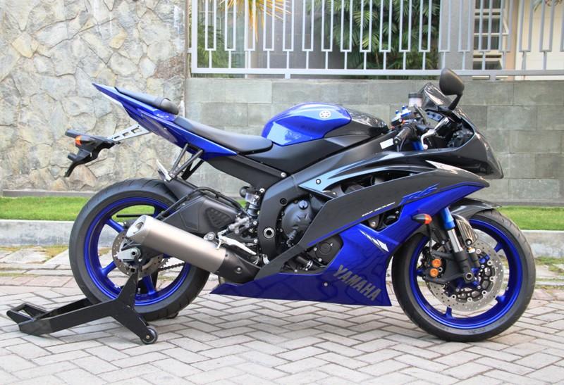 Bekas wts yamaha r6 race blue 2014 atpm km hanya 46 for Yamaha r6 2014