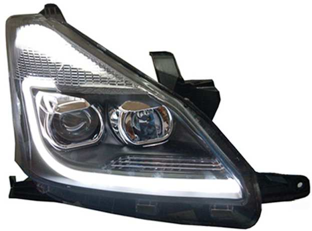 Jual Headlamp Proyektor Crystal Amp Stoplamp LED