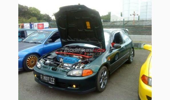 Modifikasi Mobil Warna Hijau - Opening m