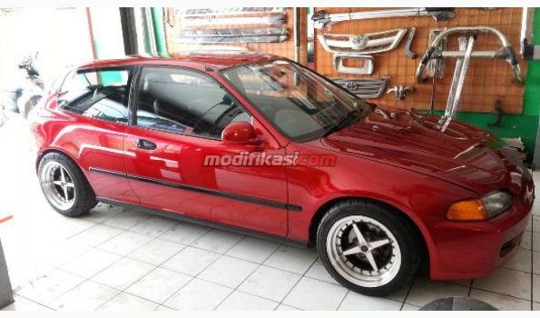 Honda Civic Estilo Sr3 1995 Red