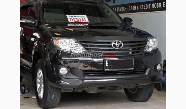 Toyota Fortuner G Vnt Hitam Tahun 2013