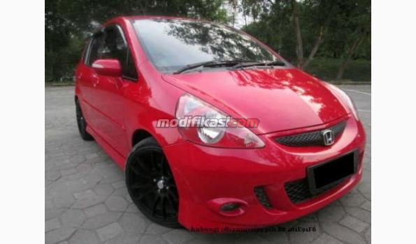 honda jazz vtec sporty 2007 automatic topgrade red. Black Bedroom Furniture Sets. Home Design Ideas