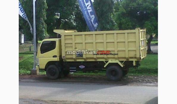 Mitsubishi Canter Dump Truck 125hd Tahun 2012