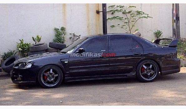 Mitsubishi Galant V6 Hitam Thn 1997 (face-off To Evo-x)