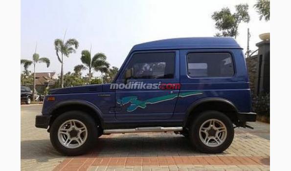 840+ Modifikasi Mobil Katana Warna Biru HD Terbaik