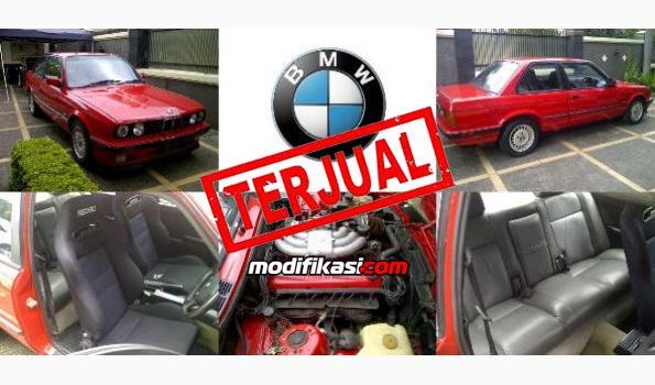 Bmw E30 325i Coupe Pintu 2 Thn 1988 Warna Merah Langka