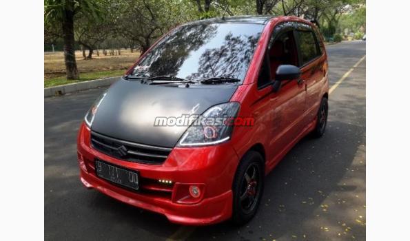 Suzuki Karimun Estilo Merah 2008 Over Kredit Full Modifikasi
