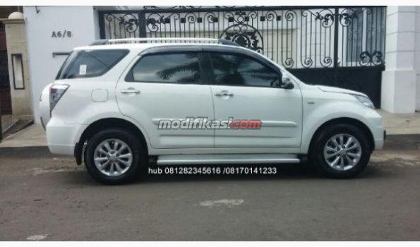 2011 Daihatsu Terios Tx Putih Matic Pajak Panjang