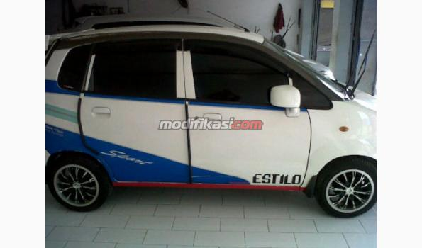 2010 Suzuki Estilo Putih 73jt Super Mulus Full Audio