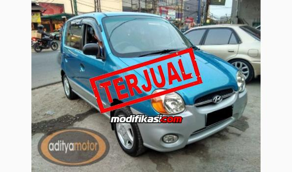 2004 Hyundai Atoz G, Biru Metalik, Manual