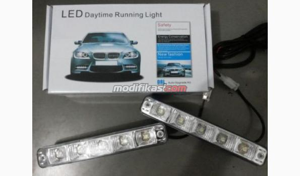 Drl Lampu Mobil Big Led 9x2 Smd Dan 5x2 Smd 10w High Power