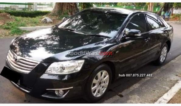 2008 toyota new camry 2 4 g at wrn hitam. Black Bedroom Furniture Sets. Home Design Ideas