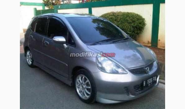 2007 honda jazz vtech sporty automatic silver stone. Black Bedroom Furniture Sets. Home Design Ideas