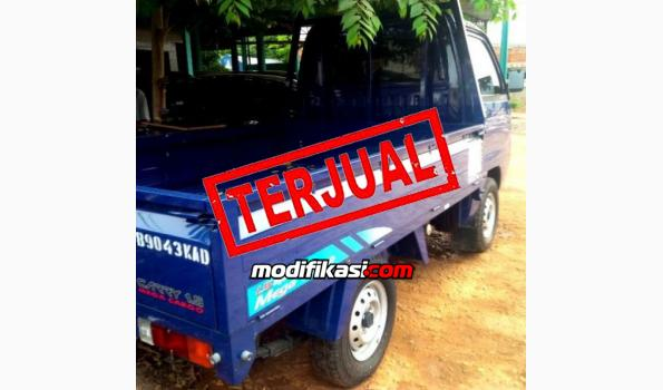 2012 Suzuki Futura Pick Up Mega Cargo Km 600 Masih Plastikan