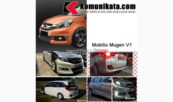 Paket Set Bodykit Honda Mobilio Mugen Ver 1 Plastic Abs B